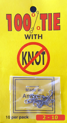 No Knot Tackle No Knot Knotless Connector Low Cost